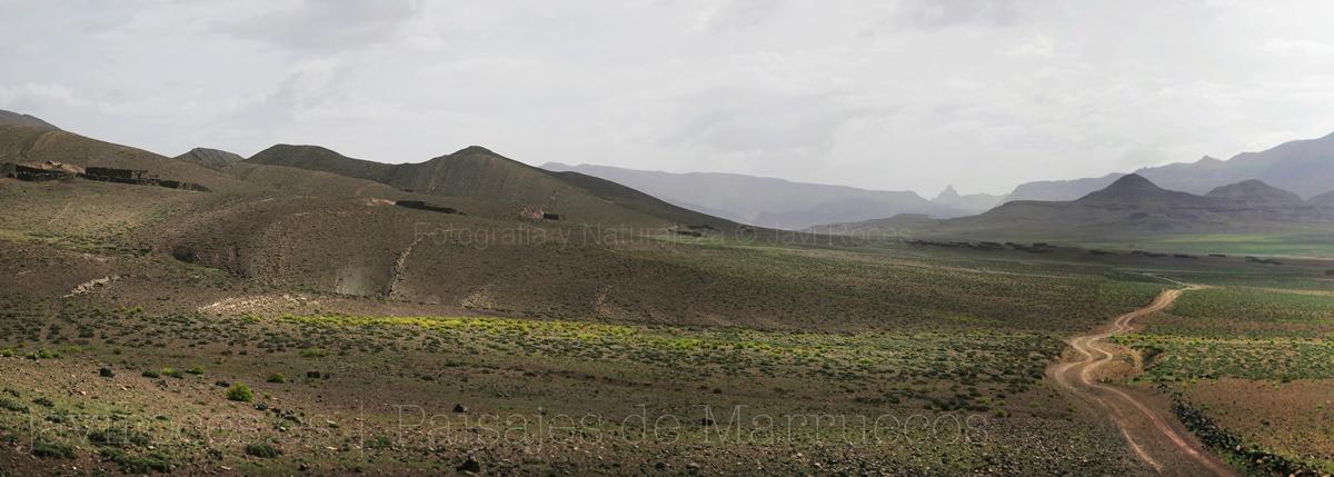 Infinitas llanuras a 2500 m de altitud.