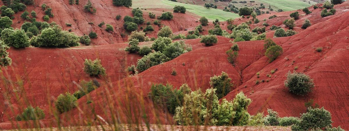 Tierra roja.