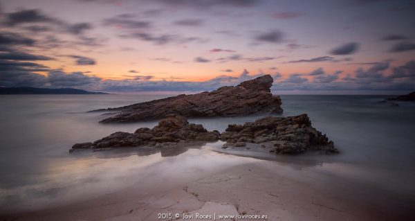 Atardecer en la costa lucense - Javi Roces